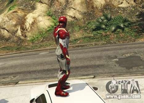 GTA 5 Iron Man Mark 47 1.3 second screenshot