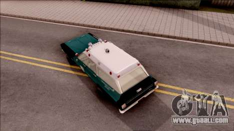 Plymouth Belvedere Station Wagon 1965 NYPD Final for GTA San Andreas back view