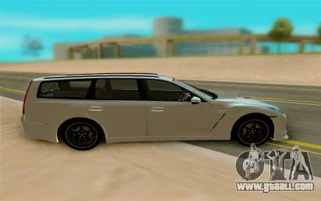 Nissan Stagea for GTA San Andreas left view
