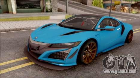 Acura NSX 2017 Stock Beta for GTA San Andreas