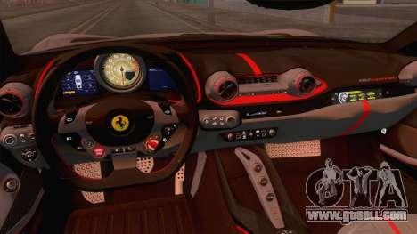 Ferrari 812 Superfast 2017 v2 for GTA San Andreas