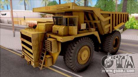 BELAZ-75214 IVF for GTA San Andreas