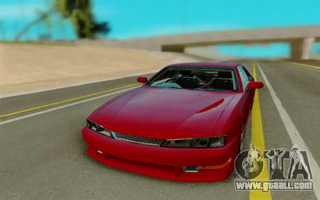 Nissan S14 for GTA San Andreas back view