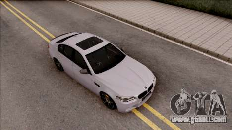 BMW M5 F10 Competition Edition for GTA San Andreas right view