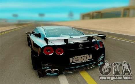Nissan GTR Nismo for GTA San Andreas