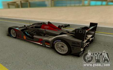Audi R15 DTI LM for GTA San Andreas right view