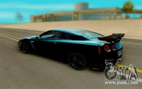 Nissan GTR Nismo for GTA San Andreas right view