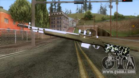 De Armas Cebras - Rifle for GTA San Andreas