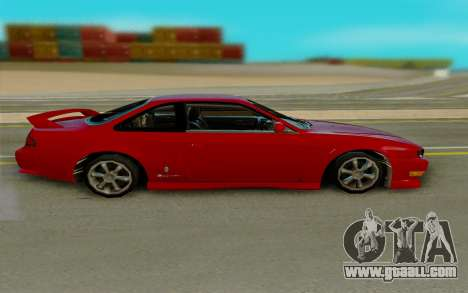 Nissan S14 for GTA San Andreas left view
