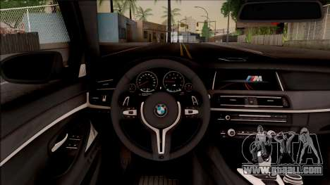 BMW M5 F10 Competition Edition for GTA San Andreas inner view
