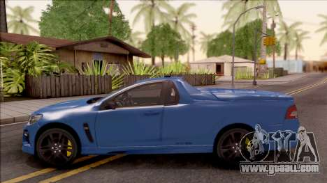HSV Limited Edition GEN-F GTS Maloo 2014 v2 for GTA San Andreas left view