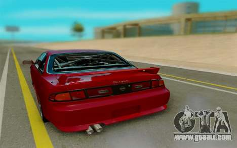 Nissan S14 for GTA San Andreas back left view
