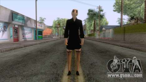 Female Sweater One Piece v2 for GTA San Andreas