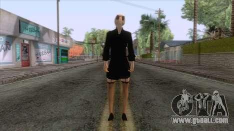 Female Sweater One Piece v2 for GTA San Andreas third screenshot
