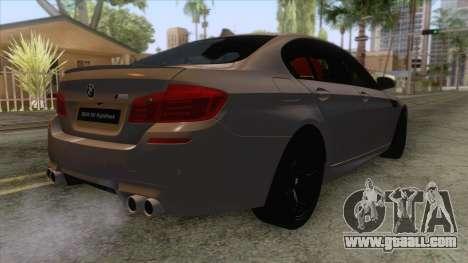 BMW M5 F10 Nighthawk for GTA San Andreas right view
