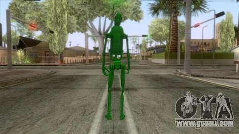 Star Wars - Toxic Droid Skin for GTA San Andreas third screenshot
