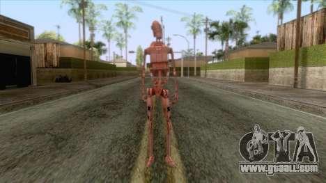 Star Wars - Geonosis Droid Skin for GTA San Andreas second screenshot