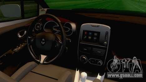 Renault Captur for GTA San Andreas inner view