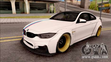 BMW M4 LB Walk for GTA San Andreas