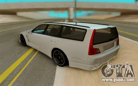 Nissan Stagea for GTA San Andreas back left view