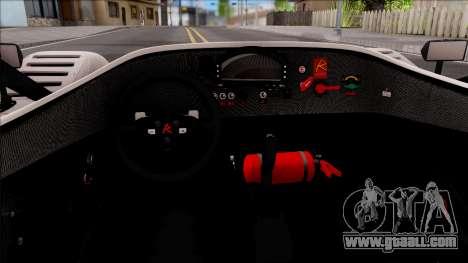 Radical SR8 RX v1 for GTA San Andreas inner view