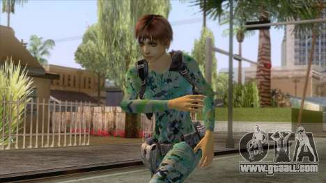 Rebecca Chambers Skin v1 for GTA San Andreas
