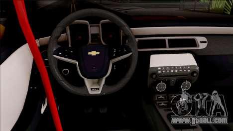 Chevrolet Camaro ZL1 Ngasal Works Kit for GTA San Andreas