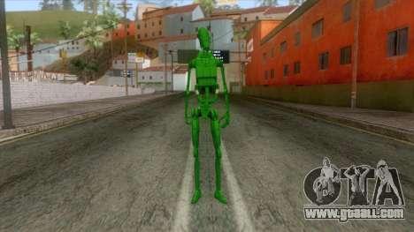 Star Wars - Toxic Droid Skin for GTA San Andreas