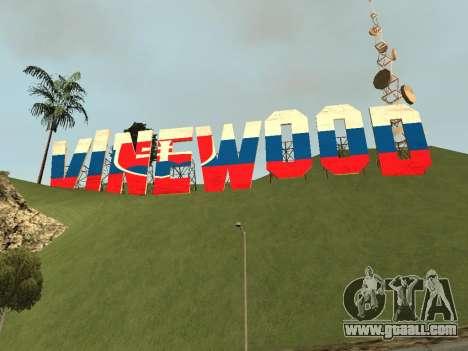 Slovakia Vinewood for GTA San Andreas second screenshot