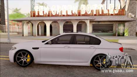 BMW M5 F10 Competition Edition for GTA San Andreas left view