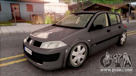 Renault Megane Authentique for GTA San Andreas