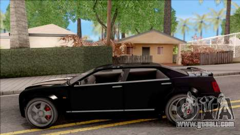 GTA IV Schyster PMP 600 IVF for GTA San Andreas left view