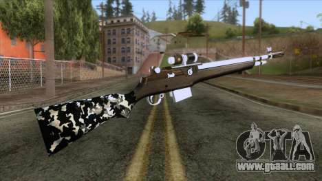 De Armas Cebras - Rifle for GTA San Andreas second screenshot