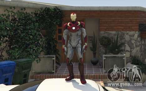 GTA 5 Iron Man Mark 47 1.3