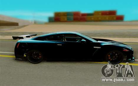Nissan GTR Nismo for GTA San Andreas left view