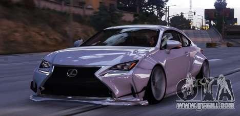 Lexus RC350 Rocket Bunny for GTA 5
