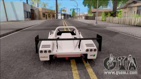Radical SR8 RX v1 for GTA San Andreas back left view