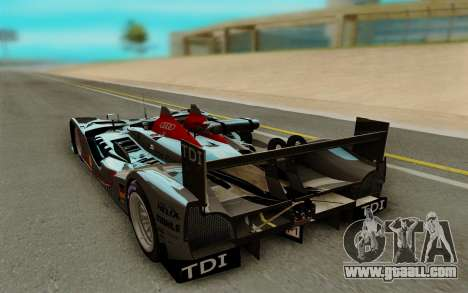 Audi R15 DTI LM for GTA San Andreas back left view