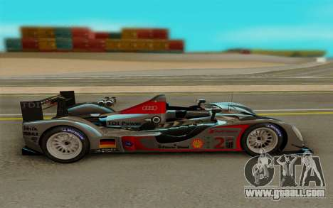 Audi R15 DTI LM for GTA San Andreas left view