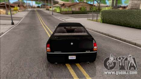 GTA IV Schyster PMP 600 IVF for GTA San Andreas back left view