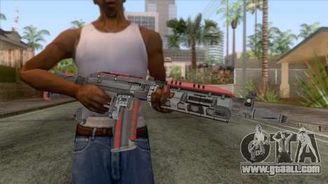 AK-117 Assault Rifle for GTA San Andreas