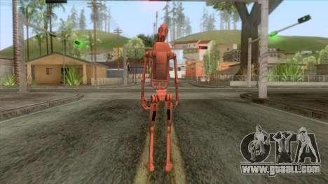Star Wars - Geonosis Droid Skin for GTA San Andreas third screenshot