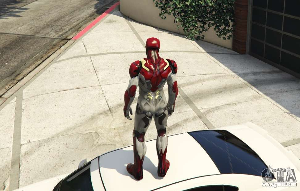 Iron Man Mark 47 1 3 for GTA 5