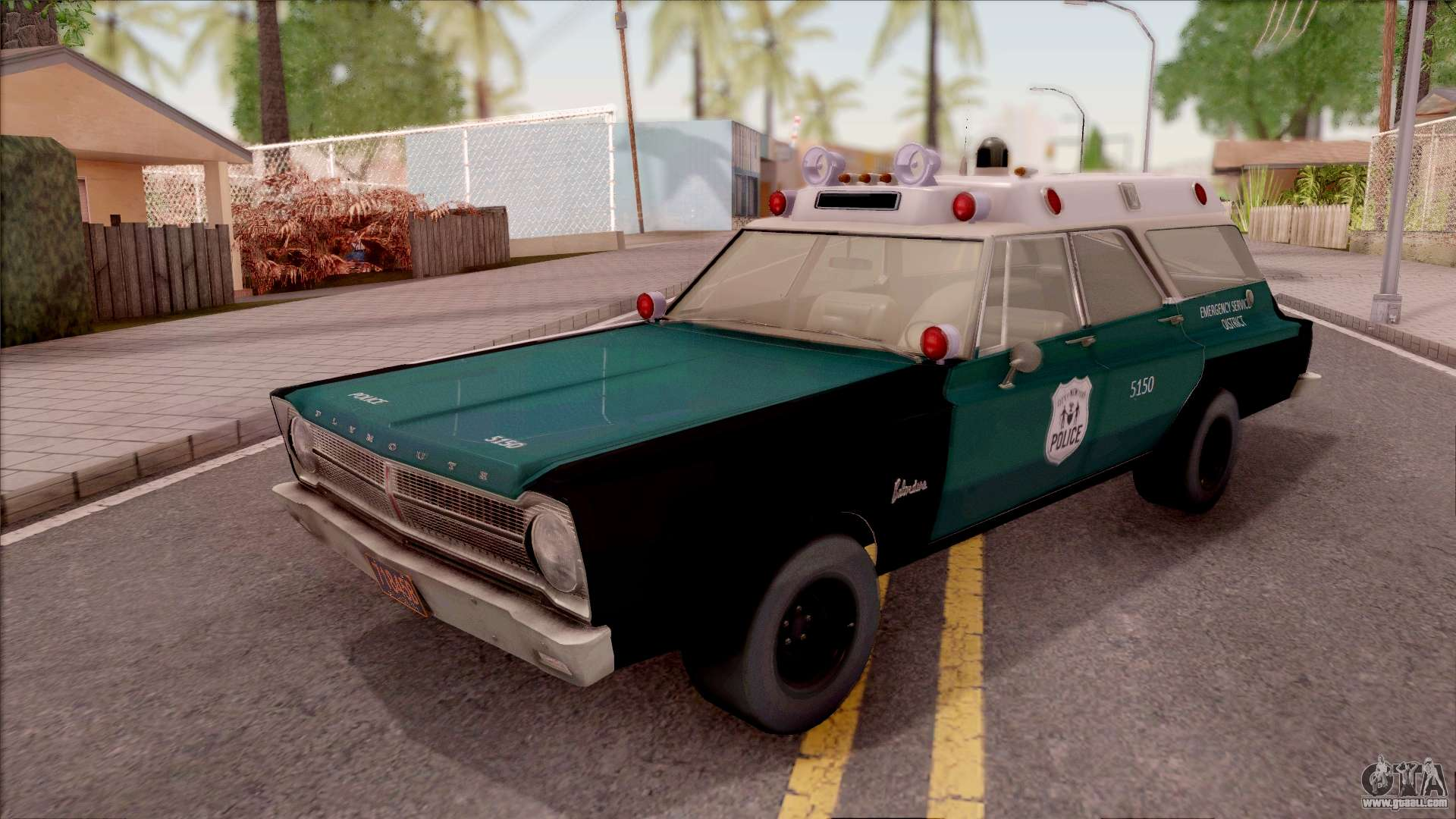 Plymouth For Gta San Andreas 1973 Satellite Station Wagon Belvedere 1965 Nypd Final