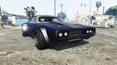 Dodge Charger Fast & Furious 8 [replace] for GTA 5