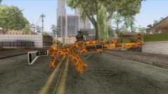 CoD: Black Ops II - AK-47 Lava Skin v1 for GTA San Andreas