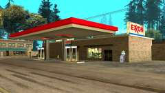 Exxon Gas Station for GTA San Andreas