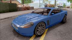 GTA IV Dewbauchee Super GT IVF for GTA San Andreas