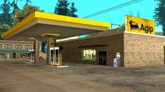 Agip Gas Station for GTA San Andreas