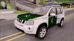 Nissan X-Trail Guardia Civil Spanish for GTA San Andreas